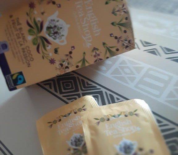 J'ai testé pour vous le thé blanc coco & fruit de la passion d'English Tea Shop