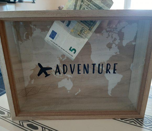 Ma tirelire voyage carte du monde !