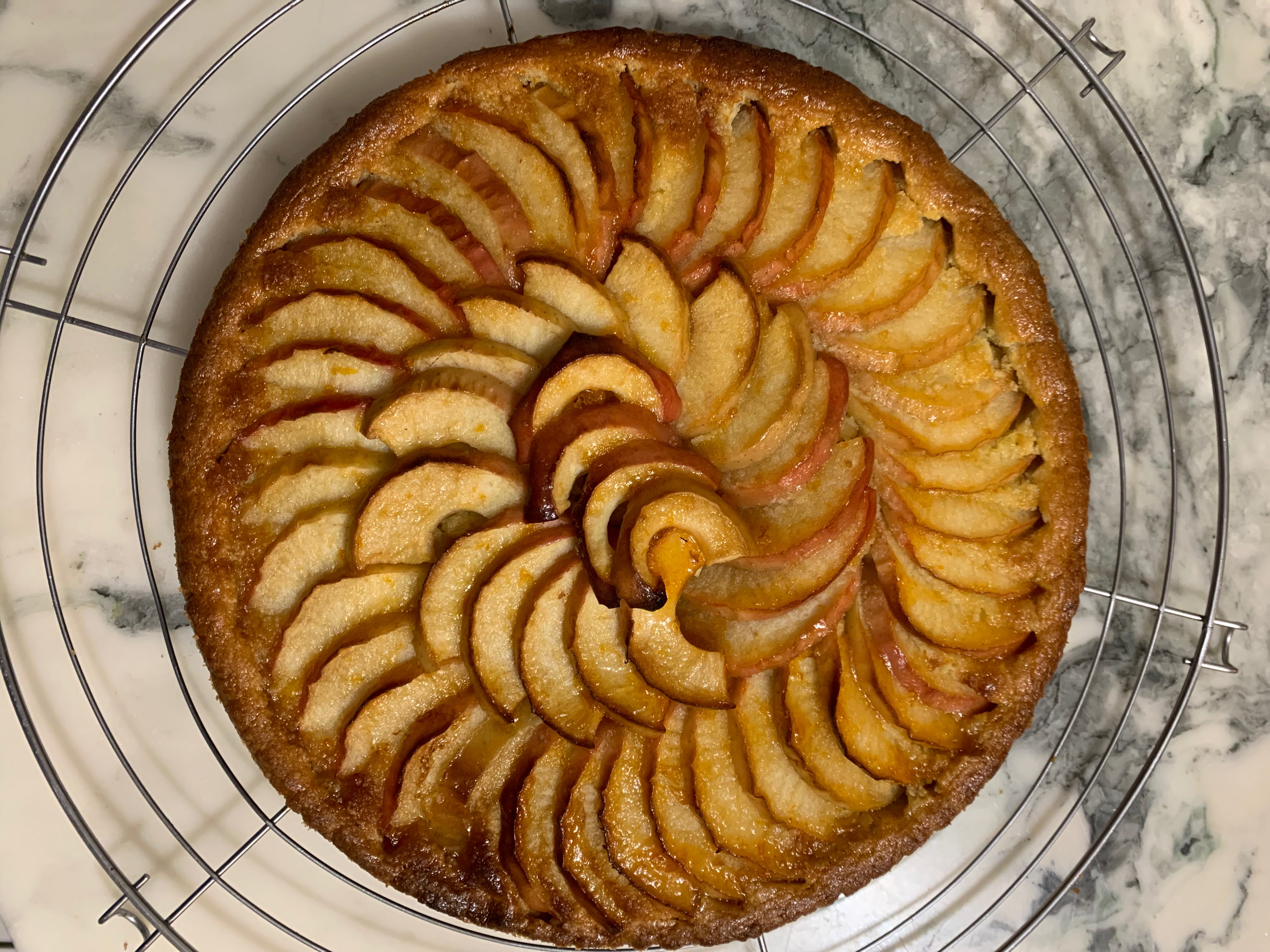 J'ai testé le cercle ! Tarte aux pommes