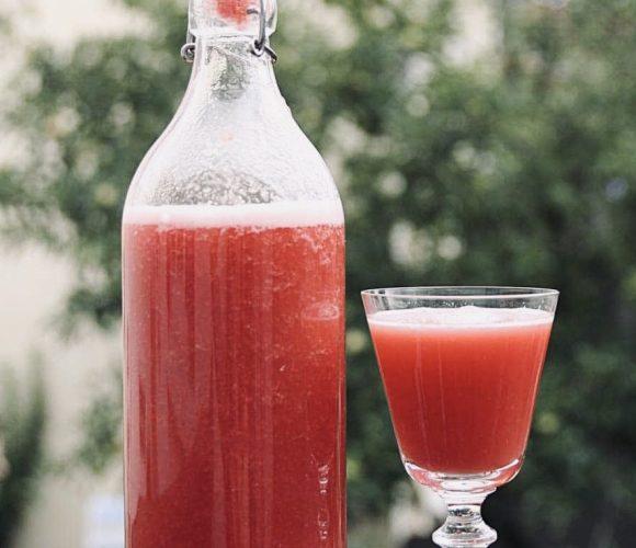 J'ai testé pour vous bouteille en verre transparent et sa recette douceur  !