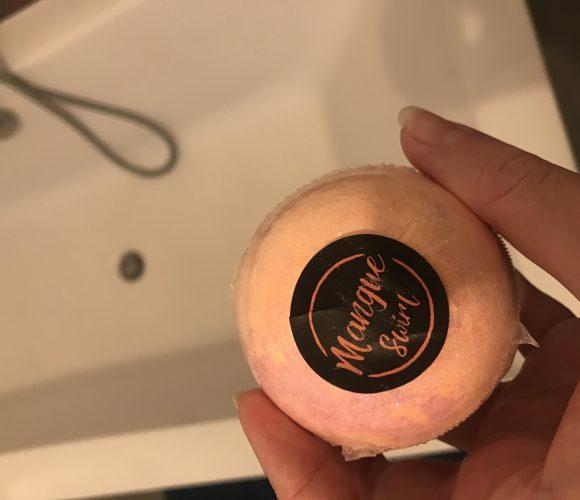J'ai testé pour vous boule de bain à la mangue