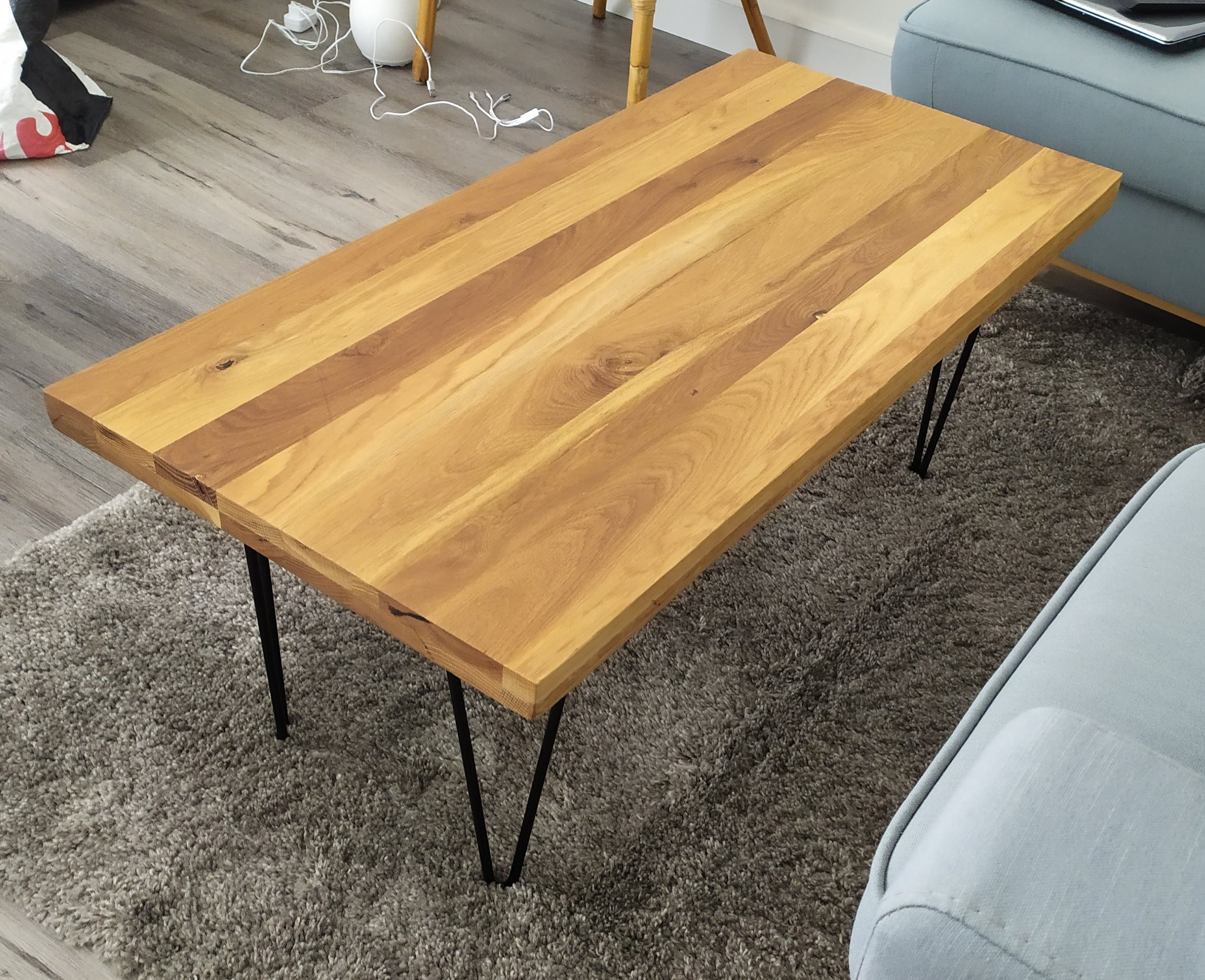 Une table basse simple et design