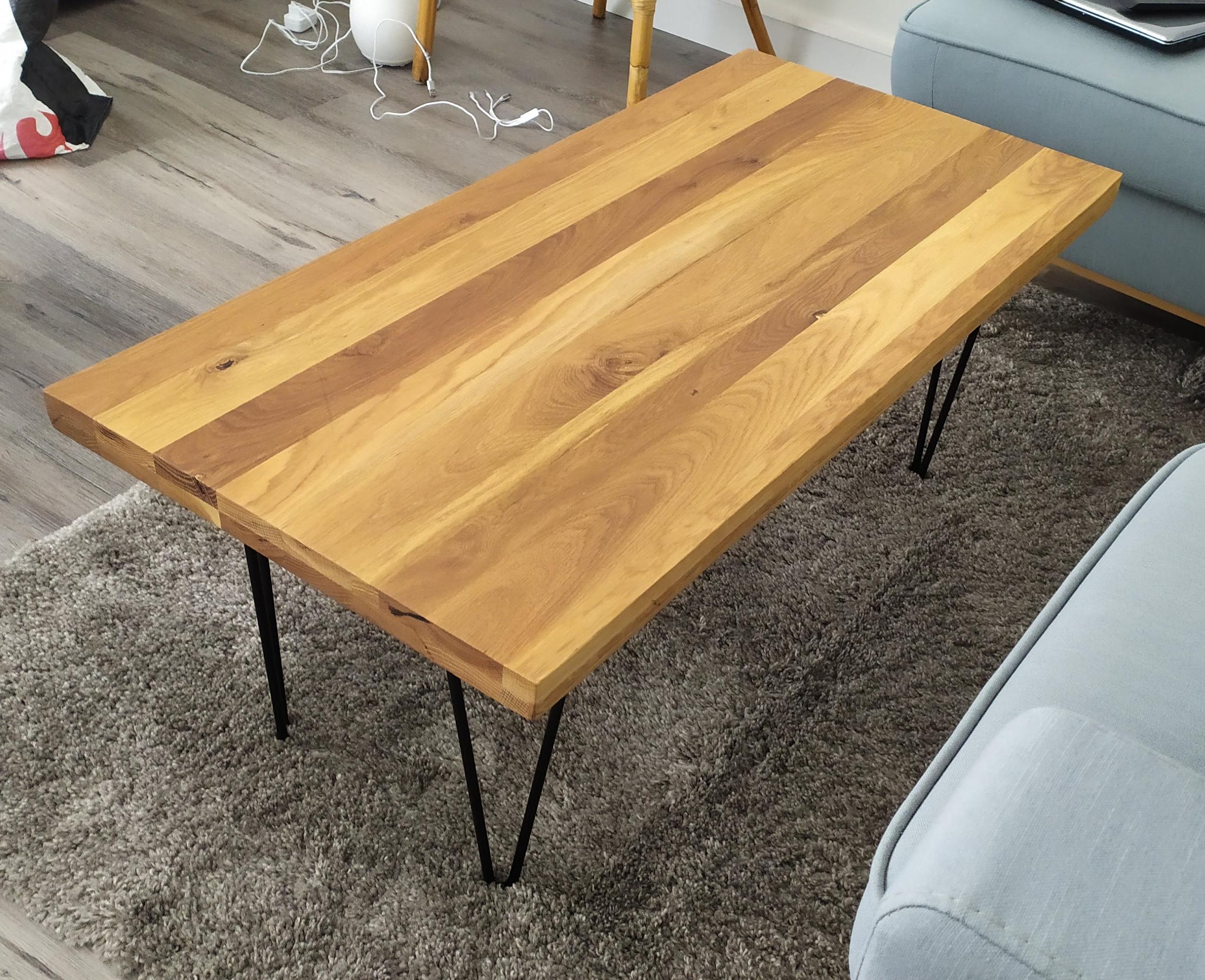 Une table basse simple et design