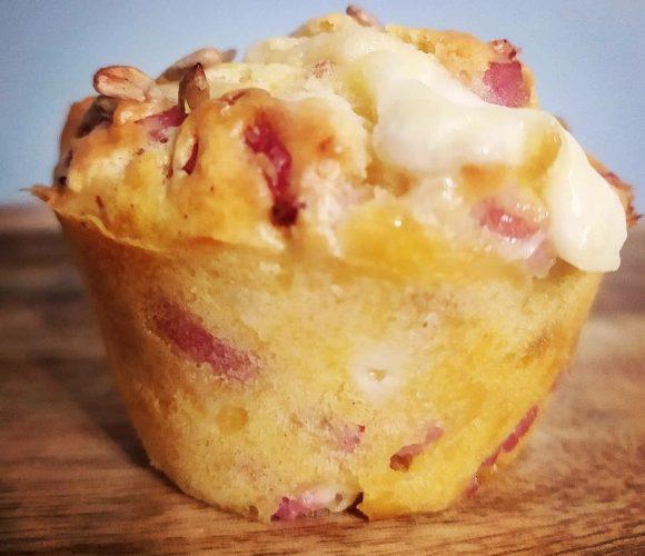 Muffins bacon mozza