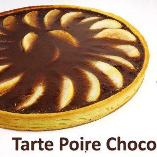 🍐🍫 TARTE POIRE CHOCOLAT 🍐🍫