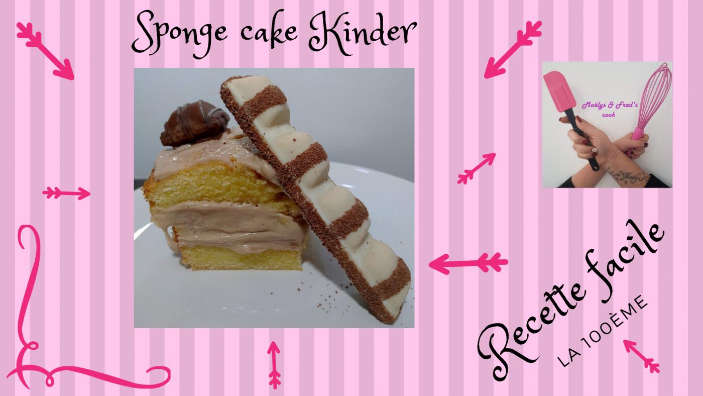 SPONGE CAKE KINDER