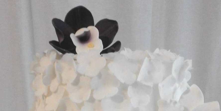 Cake design - Gâteau aux orchidées (n°64 - mars 2017)