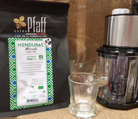 J'ai testé pour vous mon café pfaff Honduras grains