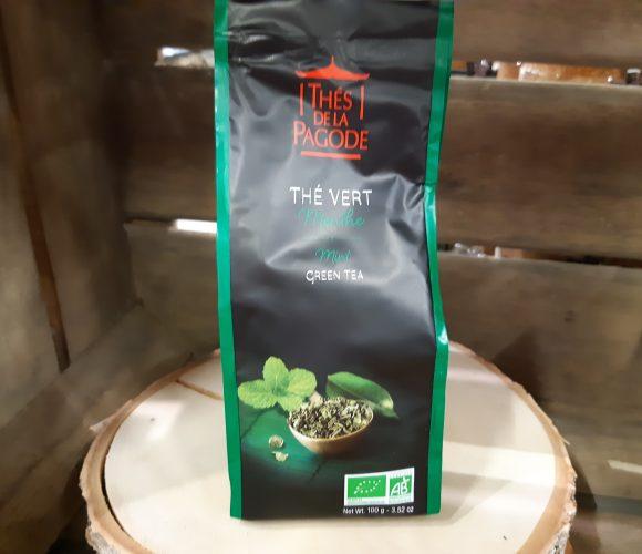 J'ai testé pour vous mon thé vert menthe «la pagode «