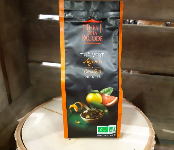 J'ai testé pour vous mon thé vert aux agrumes «la pagode»