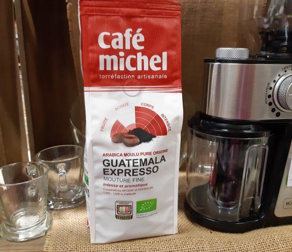 J'ai testé pour vous mon café Michel Guatemala expresso