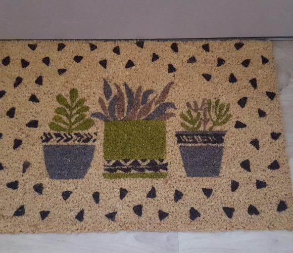 J'ai testé pour vous paillasson coco imprimé cactus
