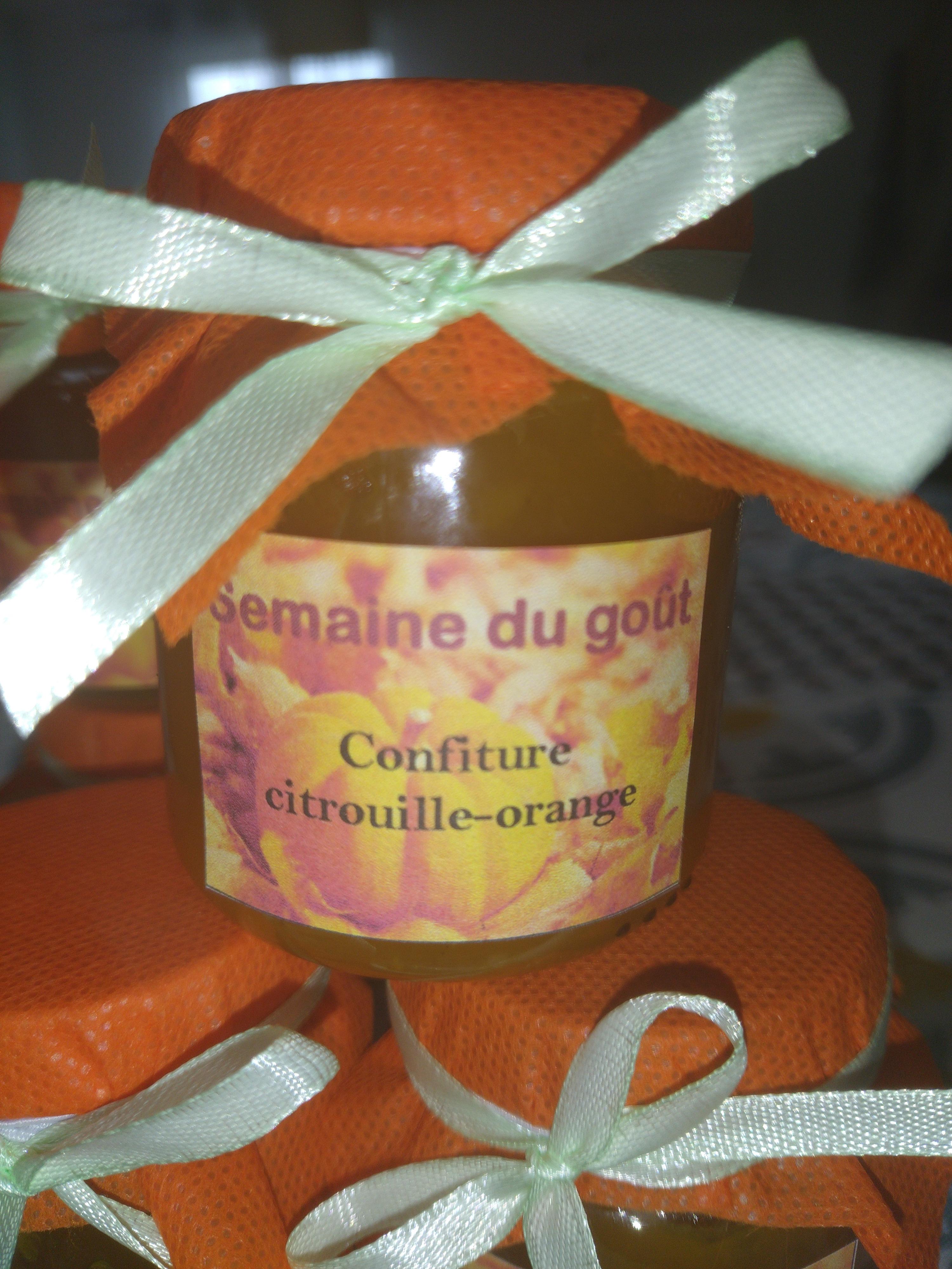 Confiture Citrouille-Orange
