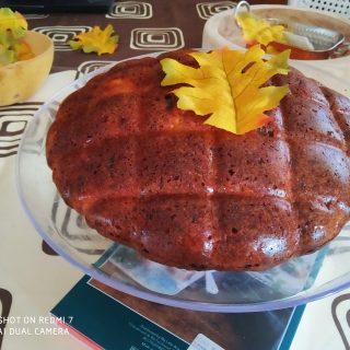 Gâteau aux pommes et raisins secs