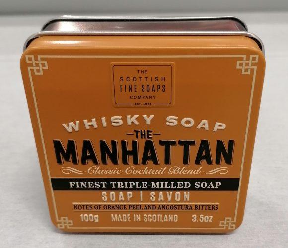J'ai testé pour vous le savon Whisky Soap «The Manhattan» de Scottish Fine Soap