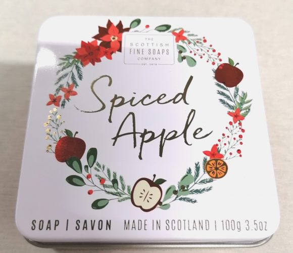 J'ai testé pour vous le savon Spiced Apple de Scottish Fine Soap