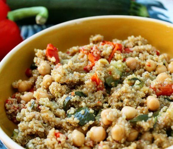 One quinoa aux légumes