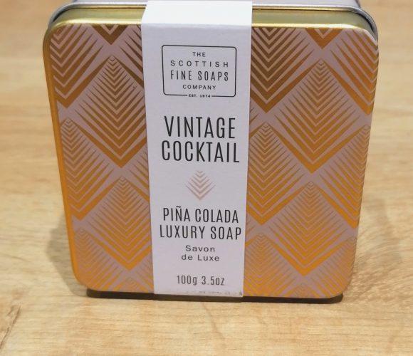 J'ai testé pour vous savon Pina Colada de Scottish Fine Soap