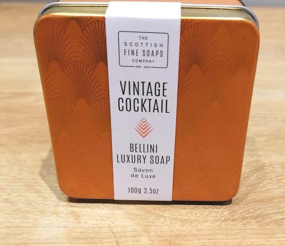 J'ai testé pour vous savon Bellini de Scottish Fine Soap