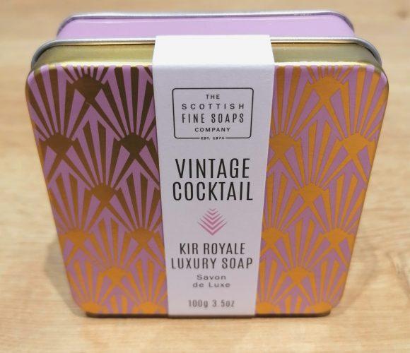 J'ai testé pour vous savon Kir Royal de Scottish Fine Soap
