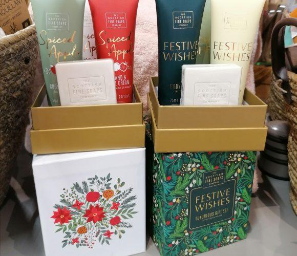 Idée cadeau : Coffret «Festive Spice» de Scottish Fine Soap