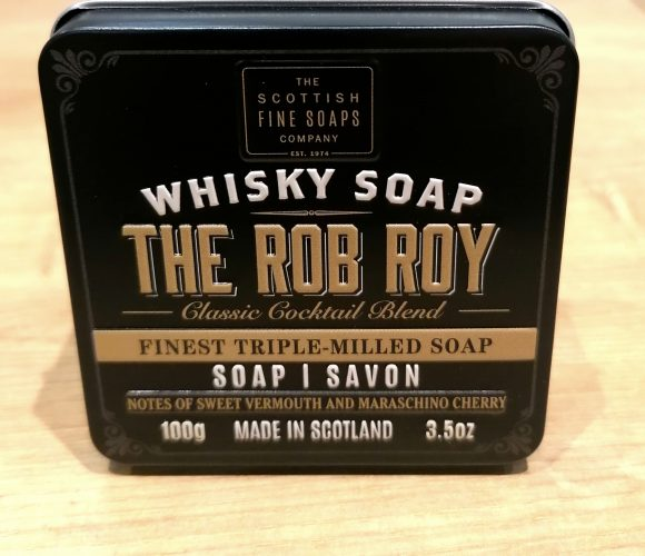 J'ai testé pour vous savon «Rob Roy» de Scottish Fine Soap