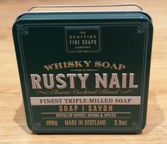 J'ai testé pour vous savon Rusty Nail de Scottish Fine Soap
