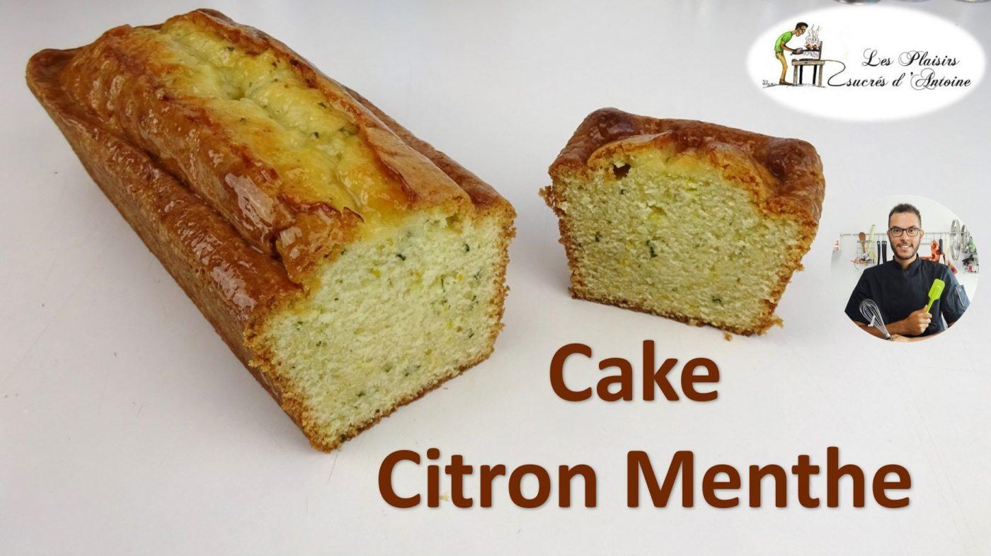 🍋🍃 CAKE CITRON MENTHE🍃🍋 simple et rapide