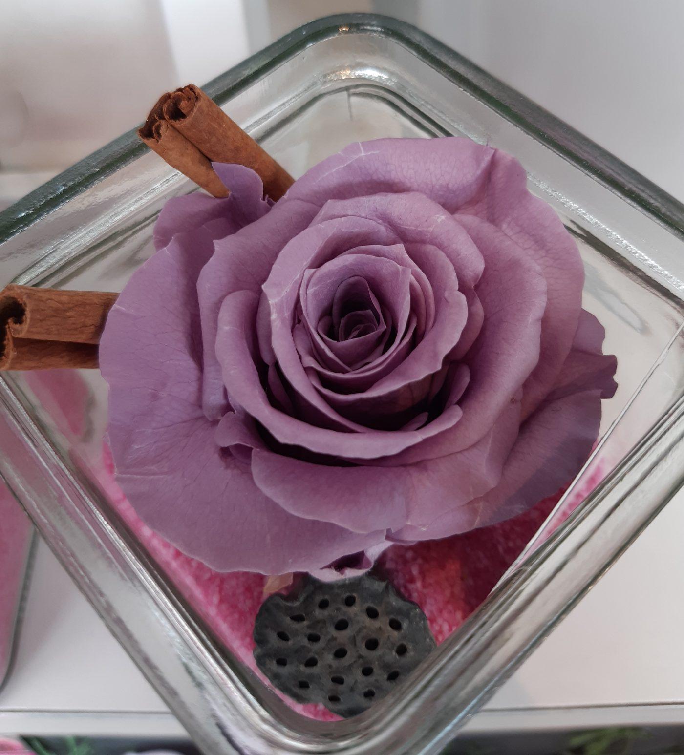 Centre de table Rose Cannelle - DIY