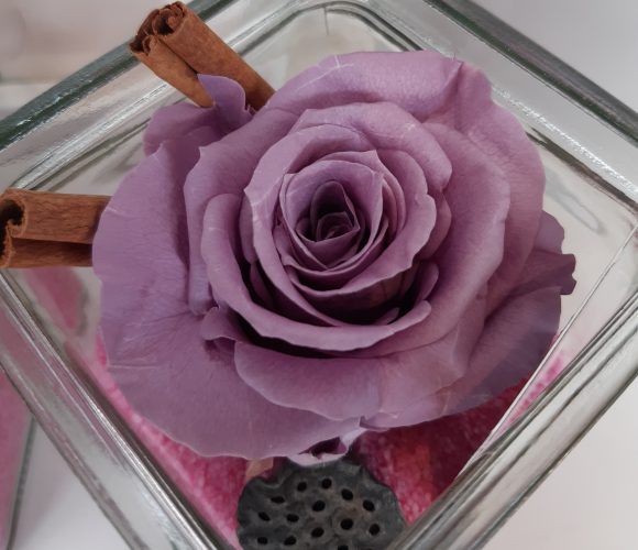 Centre de table Rose Cannelle – DIY