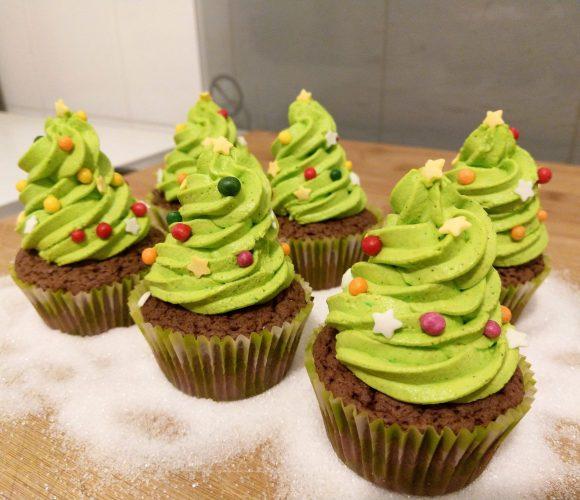 🎄 Cupcakes sapin de Noel 🎄/christmas tree