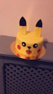 J'ai testé pour vous pikachu en Pâte à sucre jaune