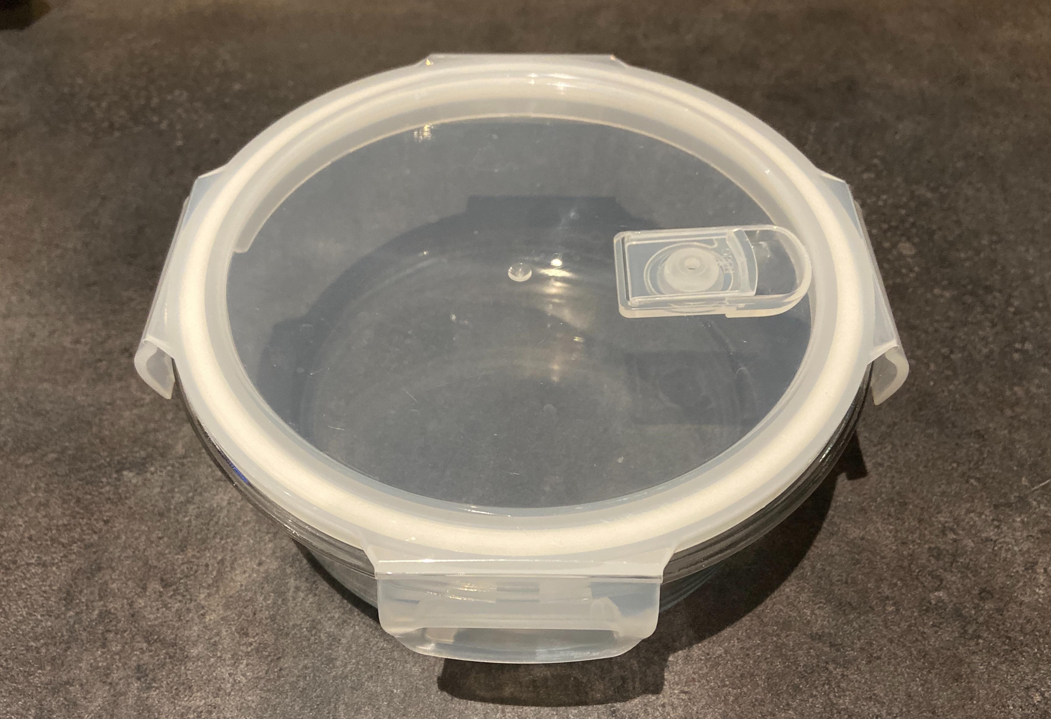 J'ai testé pour vous la boite de conservation ronde en verre 950ml PEBBLY