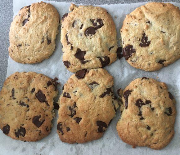 Cookies gourmand aux rochers de chocolat