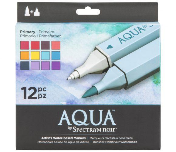J'ai testé pour vous marqueurs aquarelle Aqua par Spectrum