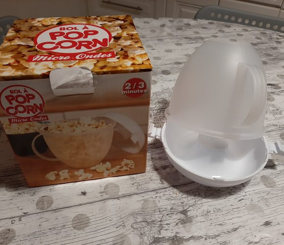 J'ai testé pour vous cuiseur pour pop corn micro-ondable