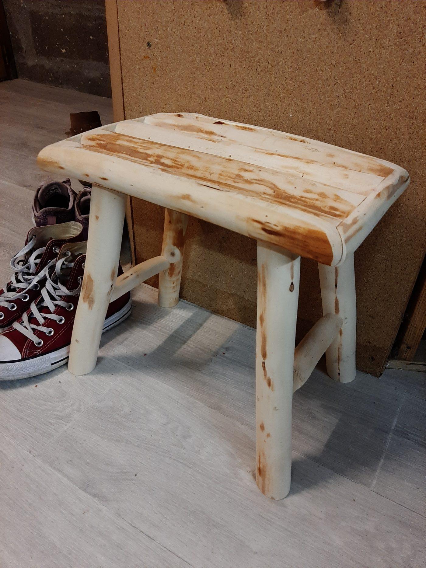 J'ai testé pour vous tabouret en bois Woody