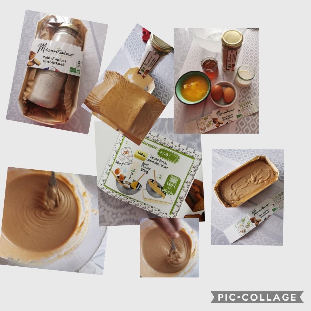 J'ai testé pour vous kit pain d'épices Mirontaine
