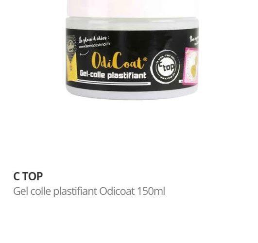 J'ai testé pour vous  le gel plastifiant OdiCoat de C TOP