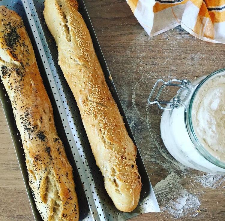 Recette facile de pain croustillant à l'extérieur moelleux à l'intérieur