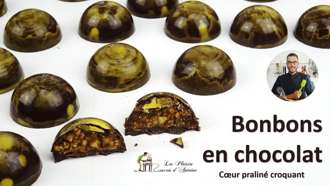 recette 🍫 BONBONS EN CHOCOLAT 🍫 facile