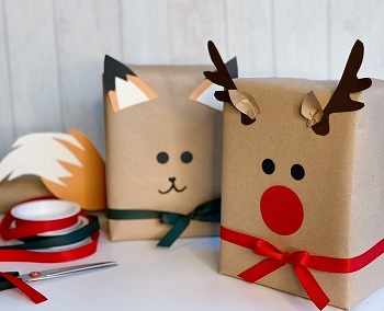 Mes jolis emballages cadeaux ludiques pour Noël !