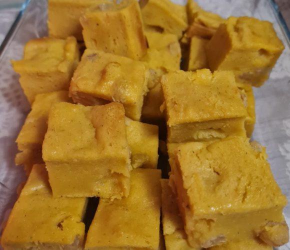 Gâteau fondant sucré au Potiron