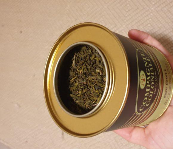 J'ai testé pour vous thé jasmin compagnie coloniale