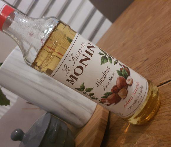J'ai testé pour vous sirop de noisettes Monin