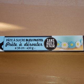 J'ai testé pour vous la pâte à sucre prête à dérouler