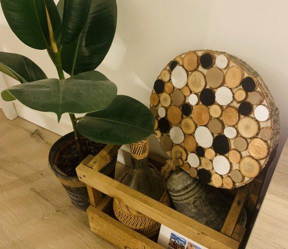 Faire un objet de déco à partir de rondins de bois