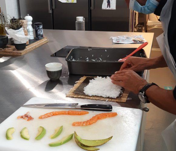Atelier tous saumon avec Fabrice 🐟