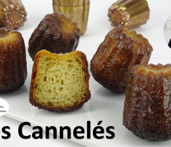 recette ⭐ LES CANNELÉS / CANELÉS ⭐