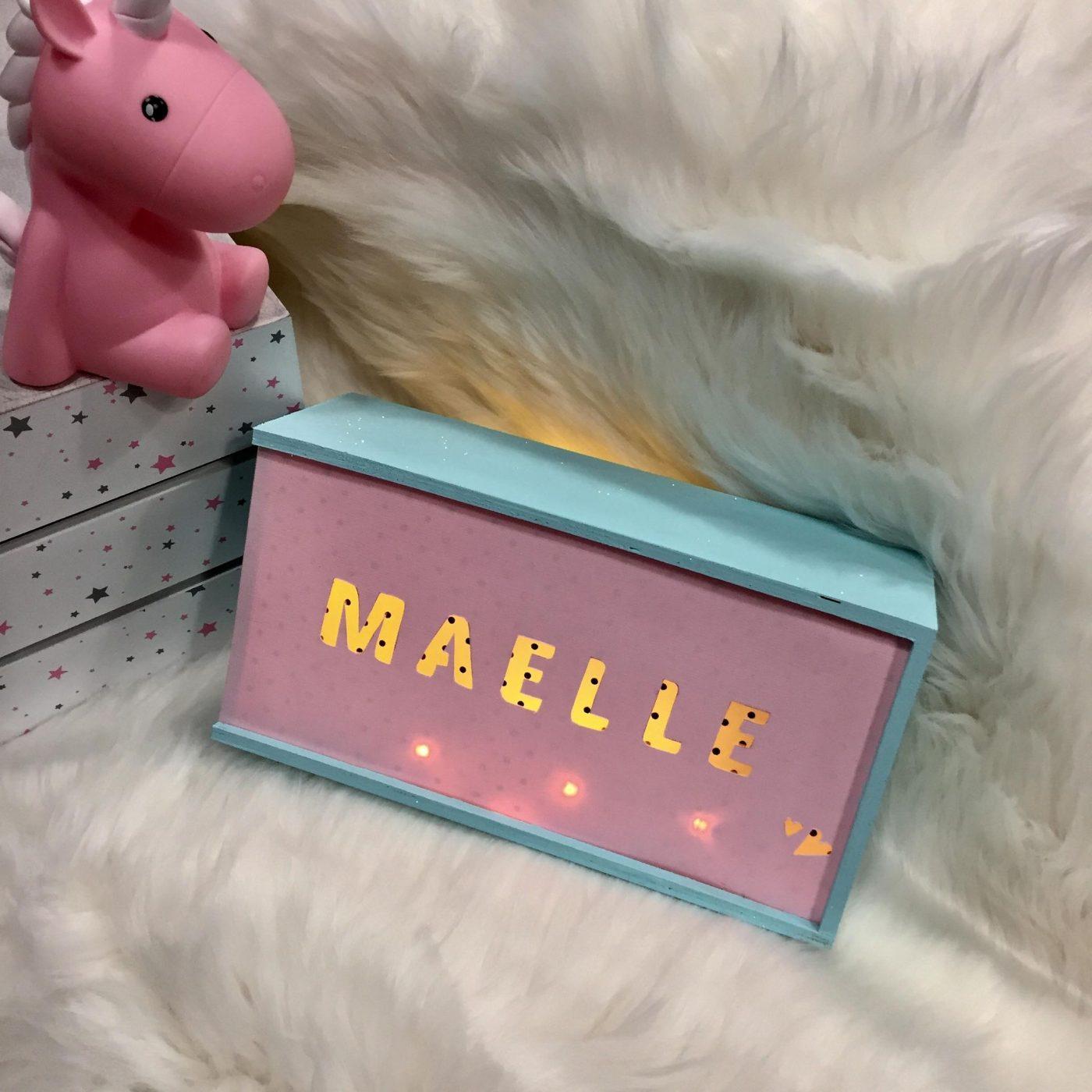Light Box personnalisée ! Disponible en atelier VISIO sur zodio.fr plan de campagne